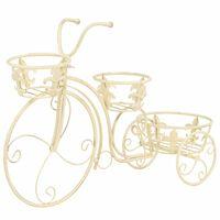 vidaXL Kukkateline polkupyörän muotoinen vintagetyylinen metalli