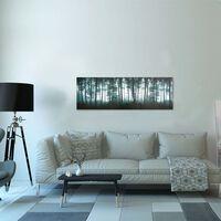 vidaXL Kanvaasitaulusarja puut monivärinen 120 x 40 cm