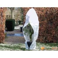 Nature Fleece talvipeite vetoketjulla 70 g/m² valkoinen 2,5x2x2 m