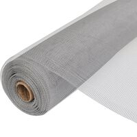 vidaXL Verkkosuoja alumiini 150x1000 cm hopea