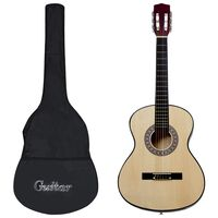 """vidaXL 8-osainen klassinen lasten ja aloittelijan kitarasarja 3/4 36"""""""