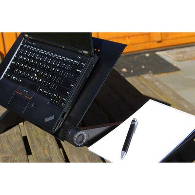 United Entertainment Monitoiminen kannettavan tietokoneen teline musta