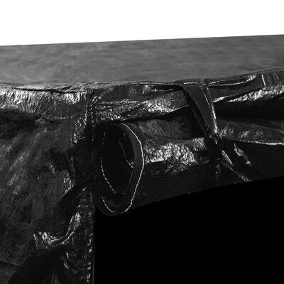 vidaXL Keinun penkinsuoja 6 purjerengasta 185x117x170 cm