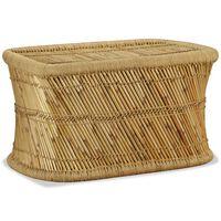vidaXL Sohvapöytä suorakaide 78x50x45 cm bambu
