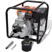 vidaXL Bensiinimoottori vesipumppu 50 mm liitäntä 6,5 HV