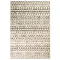 vidaXL Moderni matto perinteinen kuvio 80x150 cm beige/harmaa