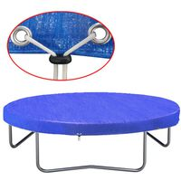 vidaXL Trampoliinin suoja PE 360-367 cm 90 g/m²