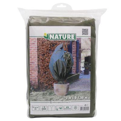 Nature Fleece talvipeite 70 g/m² vihreä 1,5x2 m