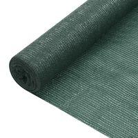 vidaXL Näkösuoja vihreä 3,6x25 m HDPE 195 g/m²