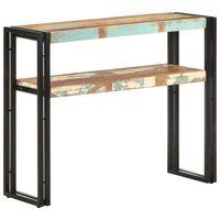 vidaXL Konsolipöytä 90x30x75 cm kierrätetty täyspuu