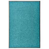 vidaXL Ovimatto pestävä sinivihreä 60x90 cm