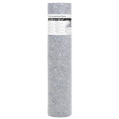 vidaXL Liukumaton maalarin fleece 2 kpl 50 m 280 g/m² harmaa
