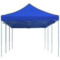 vidaXL Kokoontaittuva pop-up juhlateltta 3 x 9 m sininen