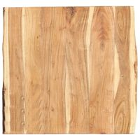 vidaXL Pöytälevy täysi akaasiapuu 60x(50-60)x3,8 cm