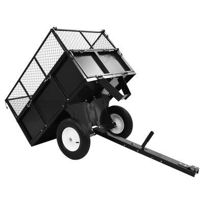 vidaXL Kallistuva peräkärry ruohonleikkurille 300 kg kuorma