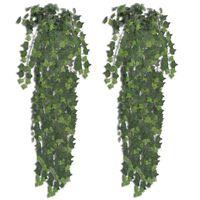2 kpl Keinotekoinen Vihreä Murattipensas 90 cm