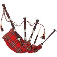 Skotlantilainen Highland Säkkipilli Kuninkaallinen Punainen