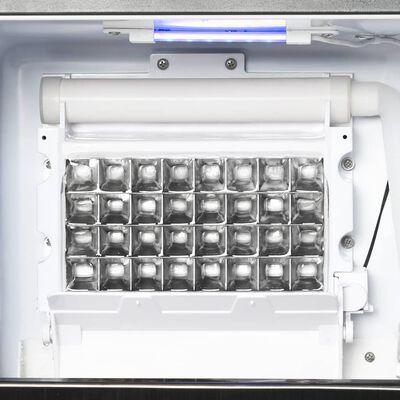vidaXL Jääpalakone 420 W 45 kg / 24 h musta