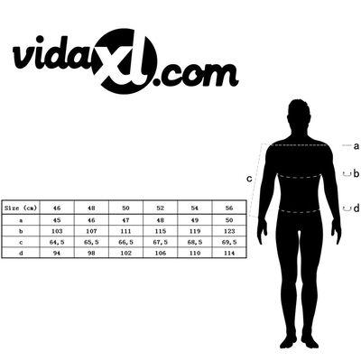 vidaXL Miesten smokki-mallinen paljettitakki koko 54 Hopea