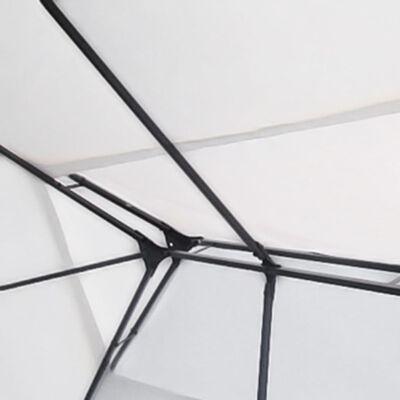 vidaXL Huvimaja 3x4 m Valkoinen, Valkoinen