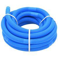vidaXL Uima-altaan letku 32 mm 15,4 m sininen