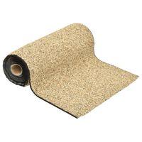 149520 vidaXL Stone Liner Natural Sand 1000x40 cm