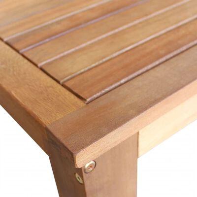 vidaXL Baaripöytä ja -jakkarat 3 osaa kiinteä akaasiapuu