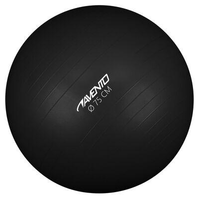 Avento Fitness/jumppapallo halkaisija 75 cm musta