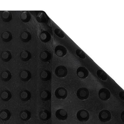 vidaXL Kohokuvioitu viemärin eristematto HDPE 400 g/m² 0,5x20 m
