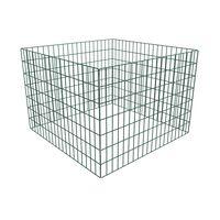 vidaXL Puutarhan verkkokomposti neliö 100 x 100 x 70 cm