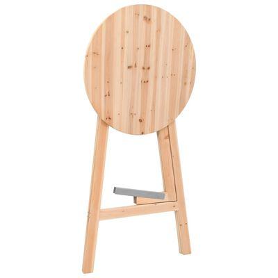 vidaXL Kokoontaitettava baaripöytä 78 cm kuusi