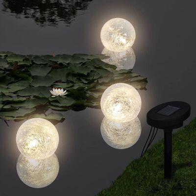 vidaXL Kelluvat lamput 6 kpl LED lampiin ja uima-altaalle