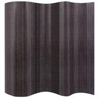 vidaXL Tilanjakaja bambu harmaa 250x165 cm