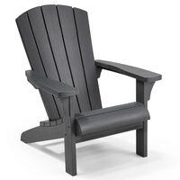 Keter Adirondack-tuoli Troy grafiitti