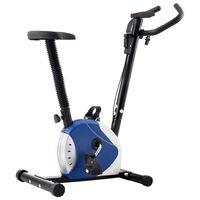 vidaXL Kuntopyörä hihnavastus sininen