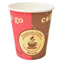 vidaXL Kertakäyttöiset kahvikupit 1000 kpl paperi 240 ml (8 unssia)