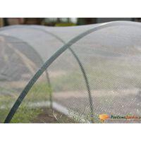 Nature Hyönteisverkko 2x10 m läpinäkyvä
