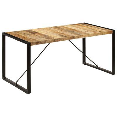 vidaXL Ruokapöytä 160x80x75 cm mangopuu