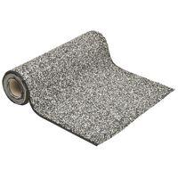 149528 vidaXL Stone Liner Grey 1000x40 cm