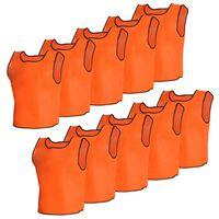 10 kpl Oranssit Juniori Urheiluliivit