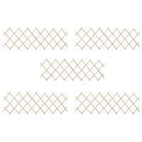 vidaXL Ristikkoaidat 5 kpl kuusipuu 180x60 cm