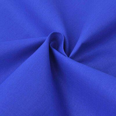 vidaXL Puuvillakangas 1,45x20 m Sininen