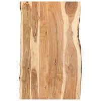vidaXL Pöytälevy täysi akaasiapuu 100x(50-60)x3,8 cm