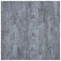 vidaXL Itsekiinnittyvä PVC Lattialankku 5,11 m² harmaa marmori