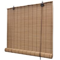 vidaXL Rullaverho bambu 150x160 cm ruskea