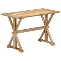 vidaXL Ruokapöytä 140x70x76 cm mangopuu