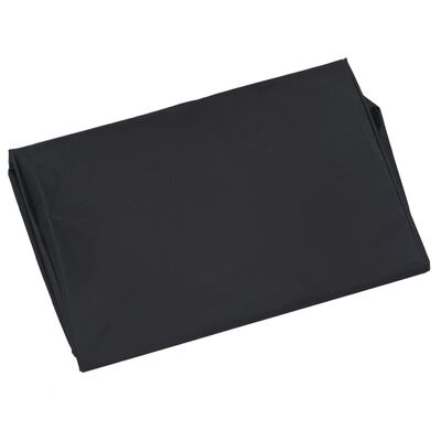 vidaXL Puutarhakärryn irtovuori musta 86x46x41 cm kangas