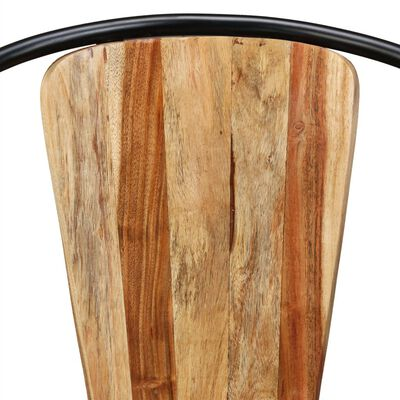 vidaXL Ruokapöydän tuolit 6 kpl kiinteä akaasiapuu
