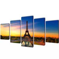 Taulusarja Eiffel Torni 200 x 100 cm