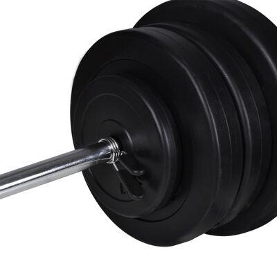 Levypaino + 2 käsipainon sarja 30,5 kg